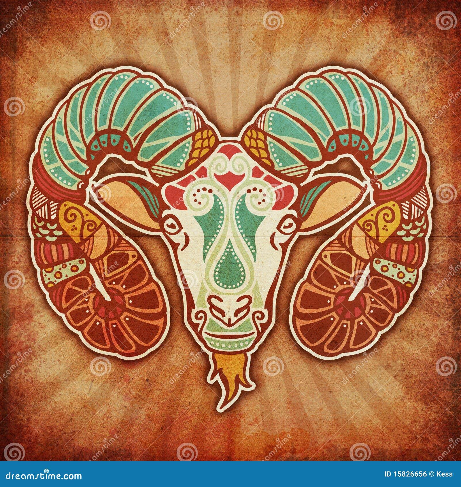 Zodiaco de Grunge - aries
