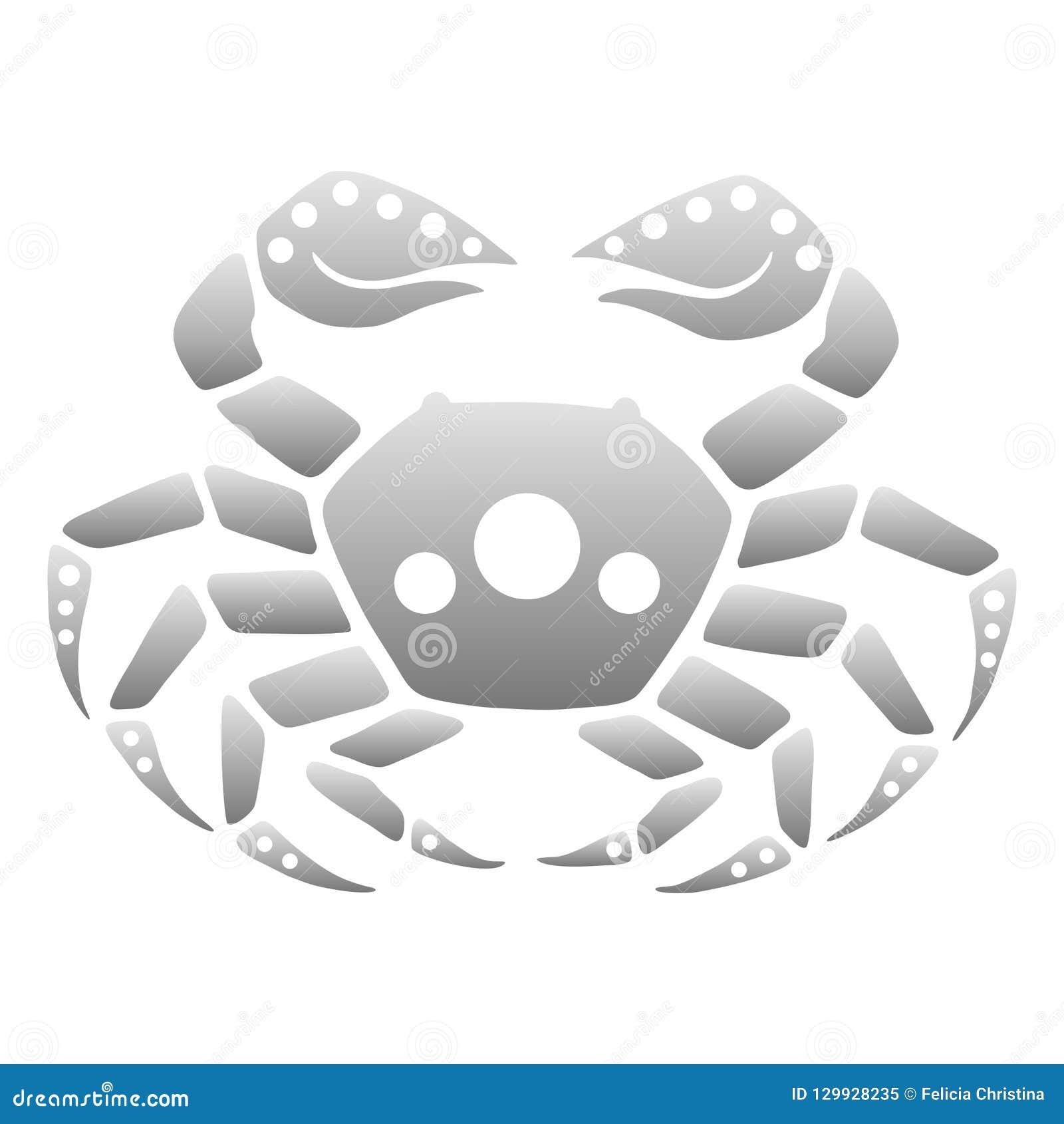 Zodiak astrologisymboler - cancer