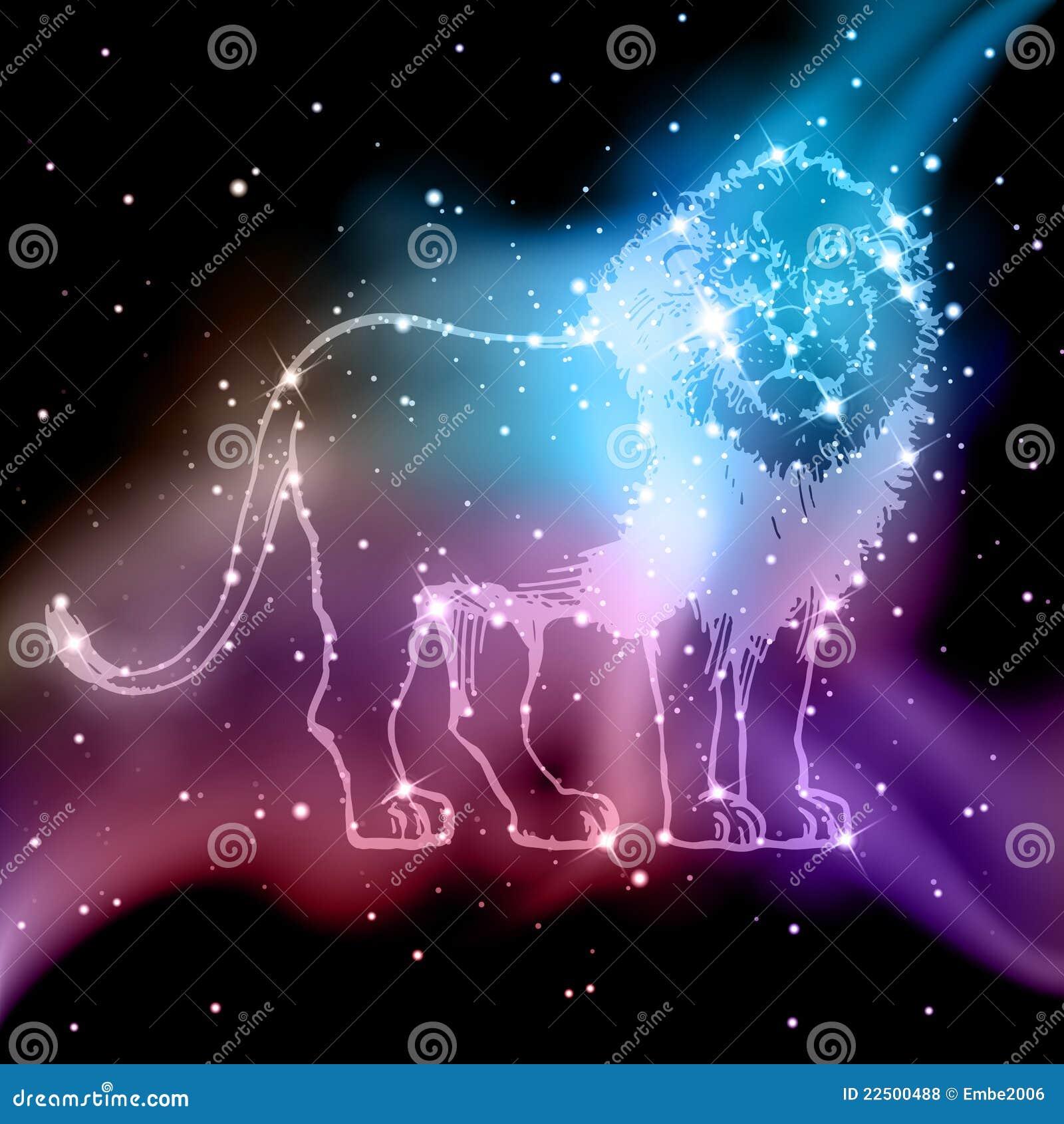 Zodiaque de lion