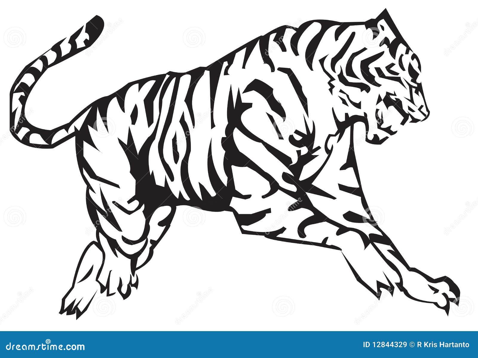 Zodiaque De Tigre Illustration De Vecteur Illustration Du