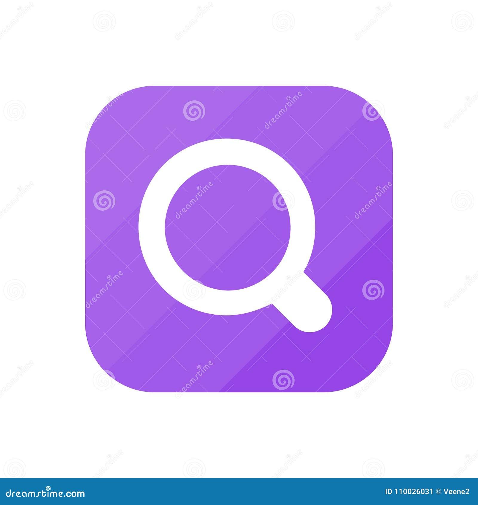 Zoek - App Pictogram