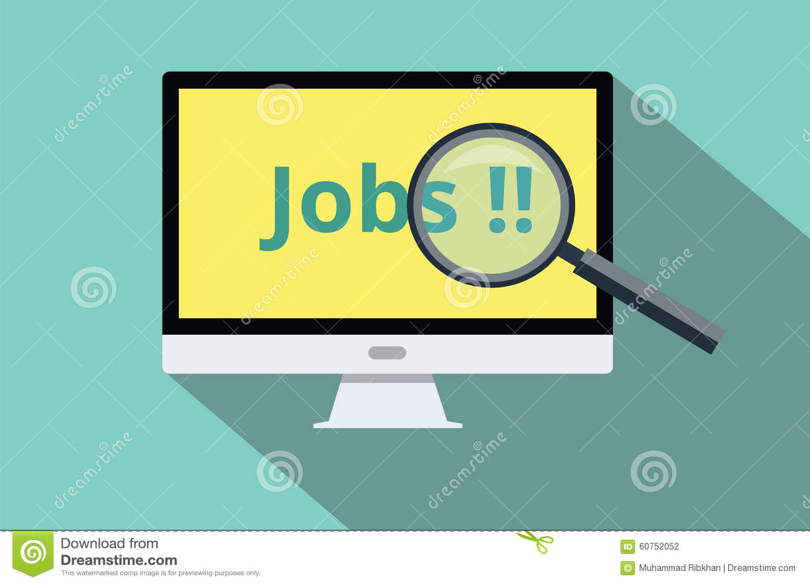 Zoek en vindt online banen