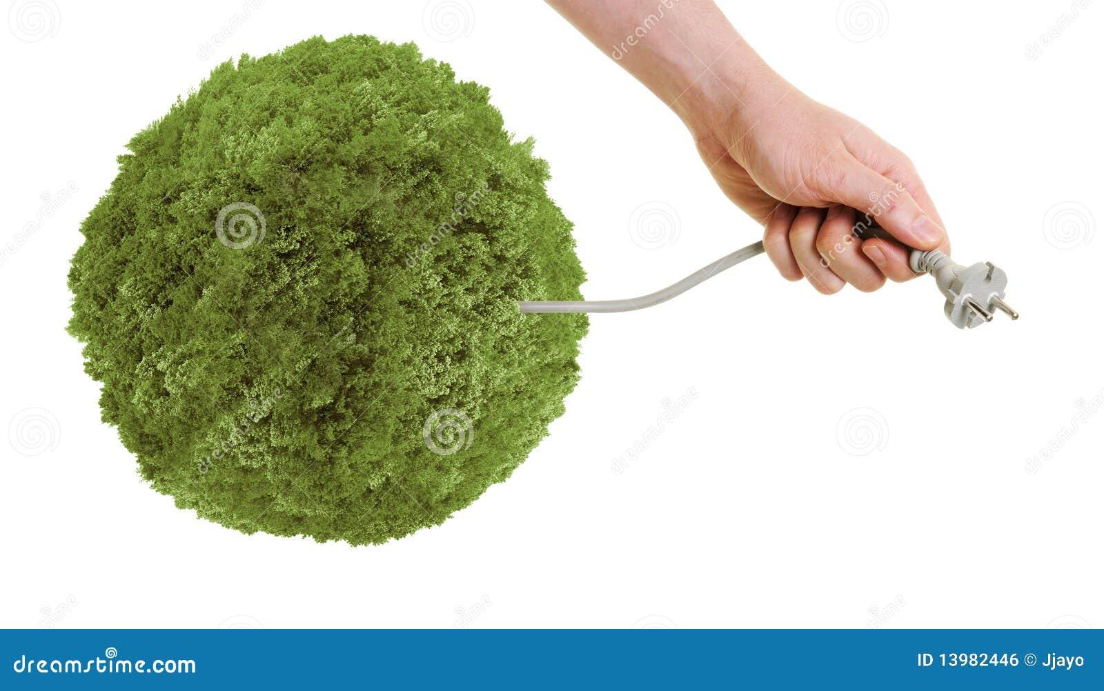 Zoek naar groene energie