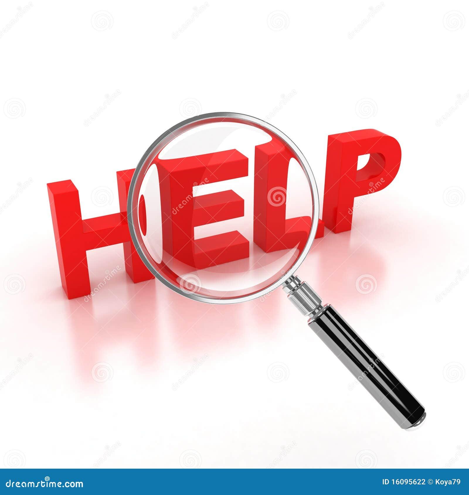 Zoek naar hulppictogram