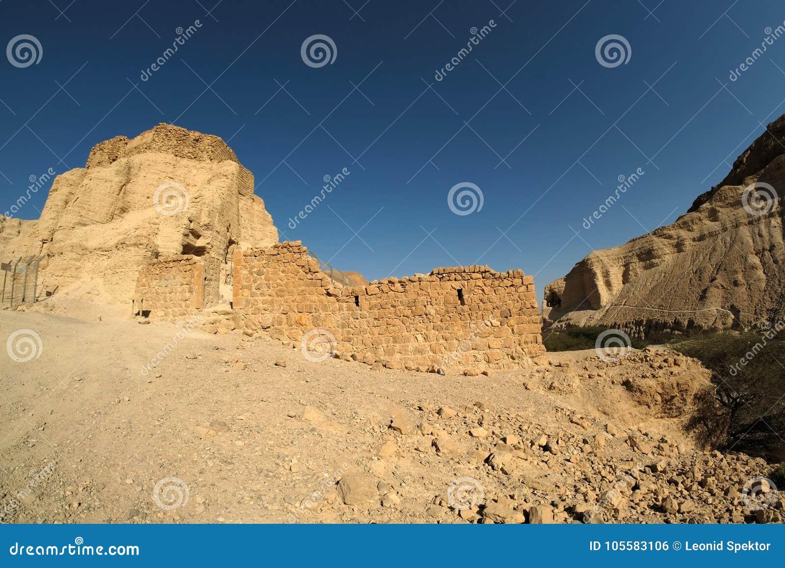Zohar Festung in der Judea Wüste