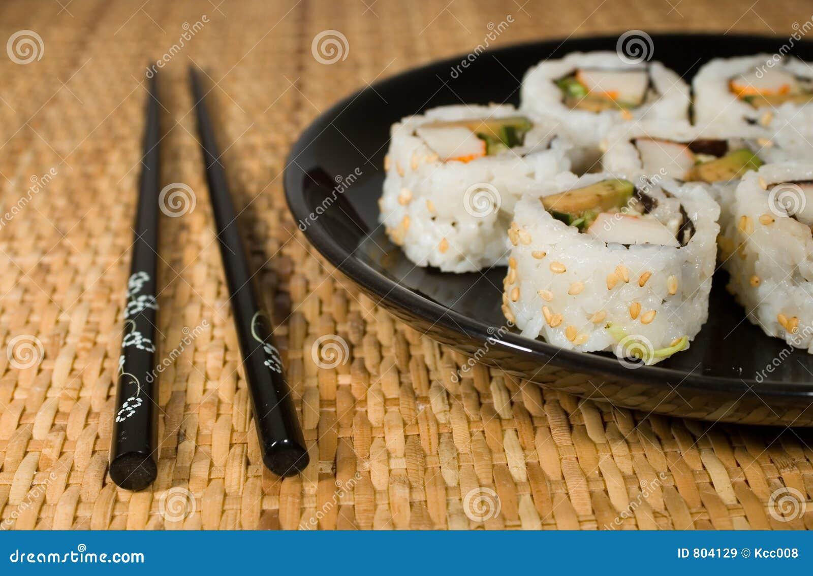 Zolla dei sushi - rulli della California