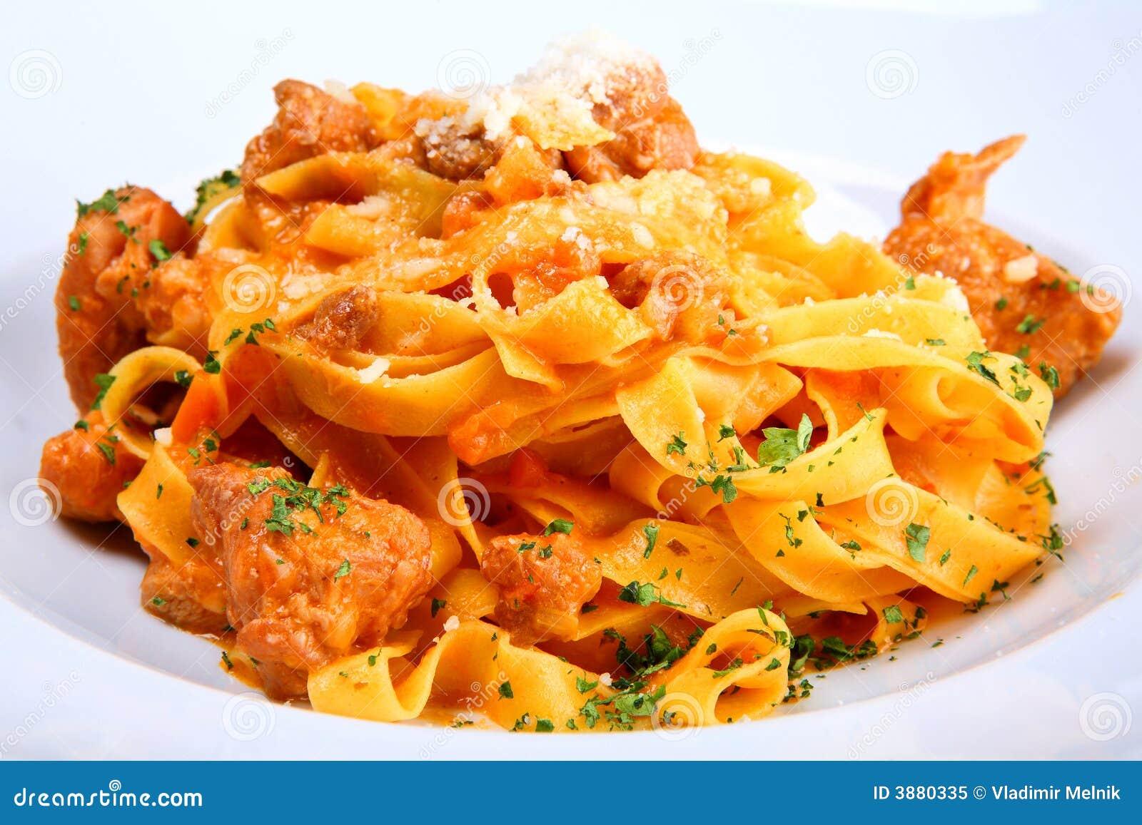 Zolla italiana della pasta