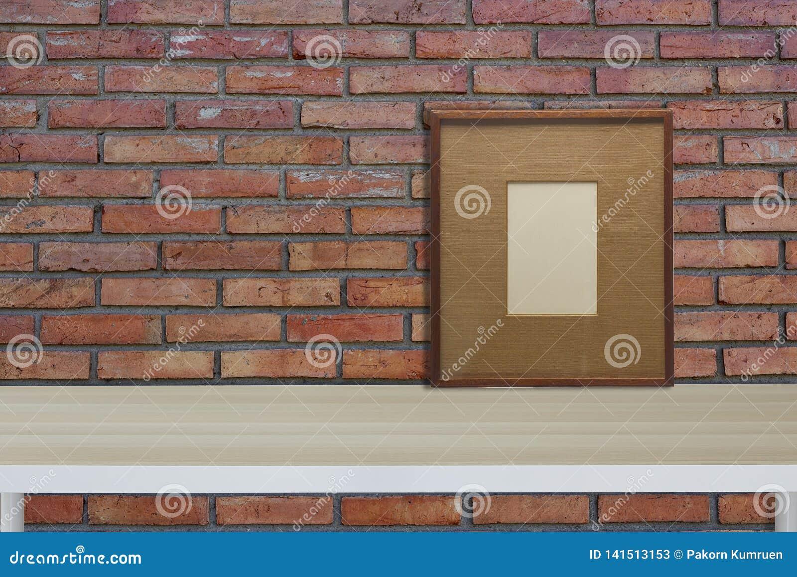 Zombaria acima do interior do moderno do quadro do vintage do espaço de trabalho