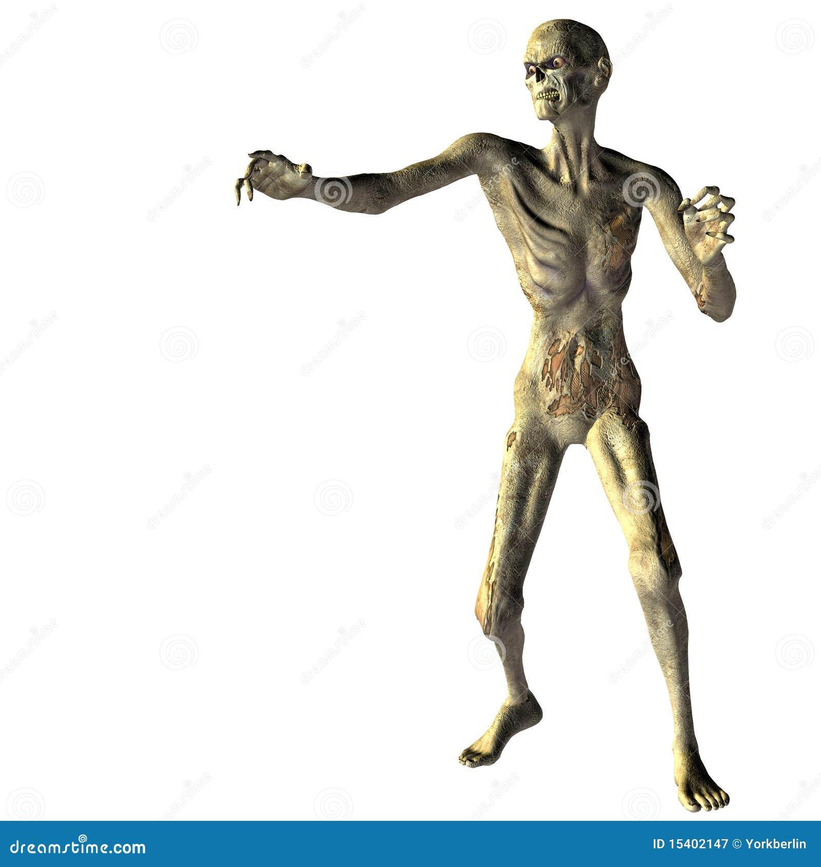 Zombi avec la main tendue