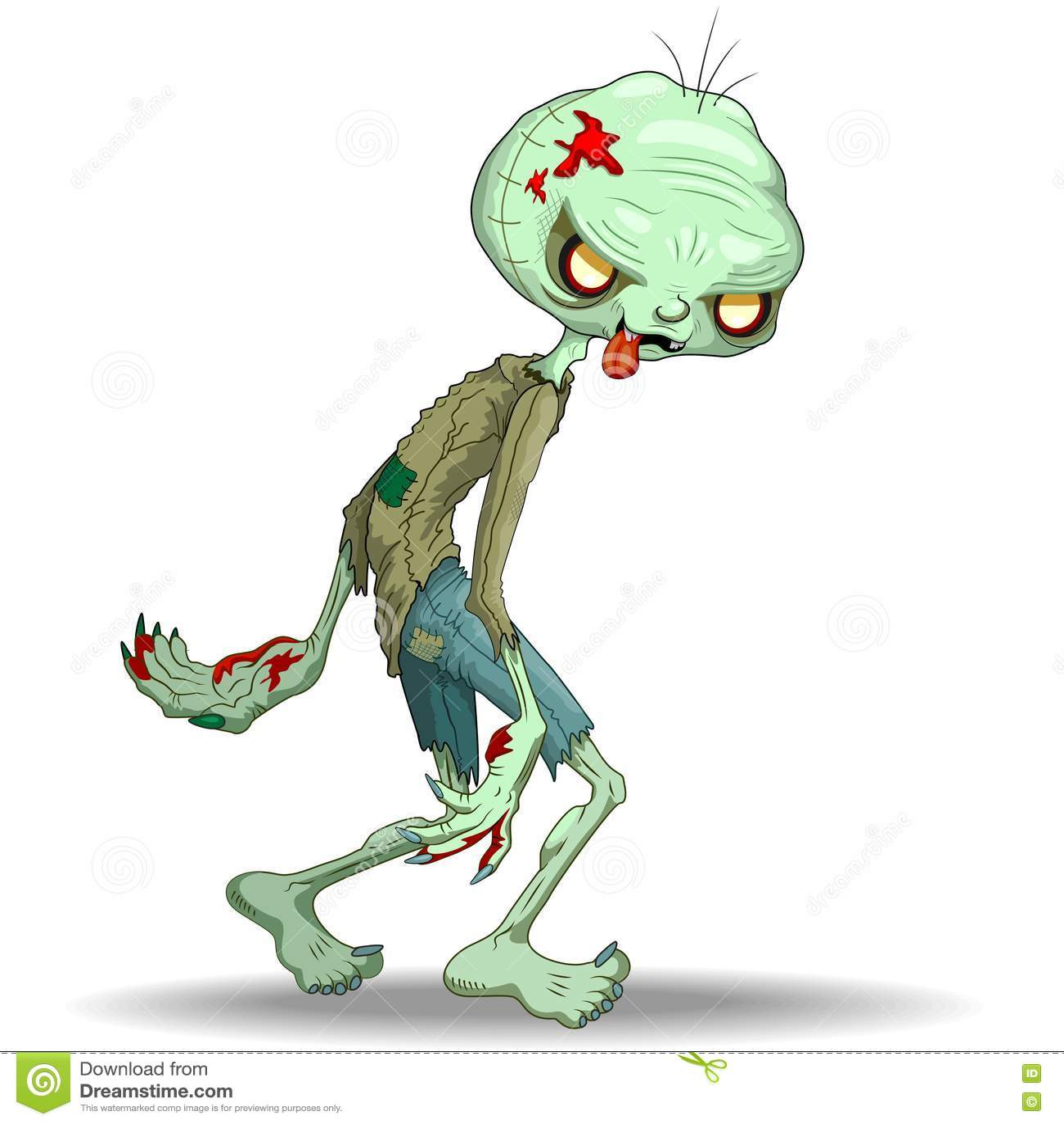 Zombie Zeichentrick