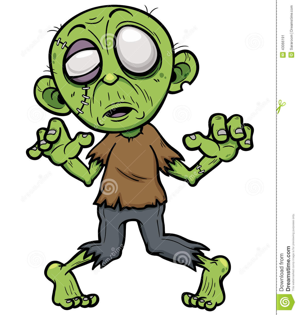 zombies clipart - photo #31