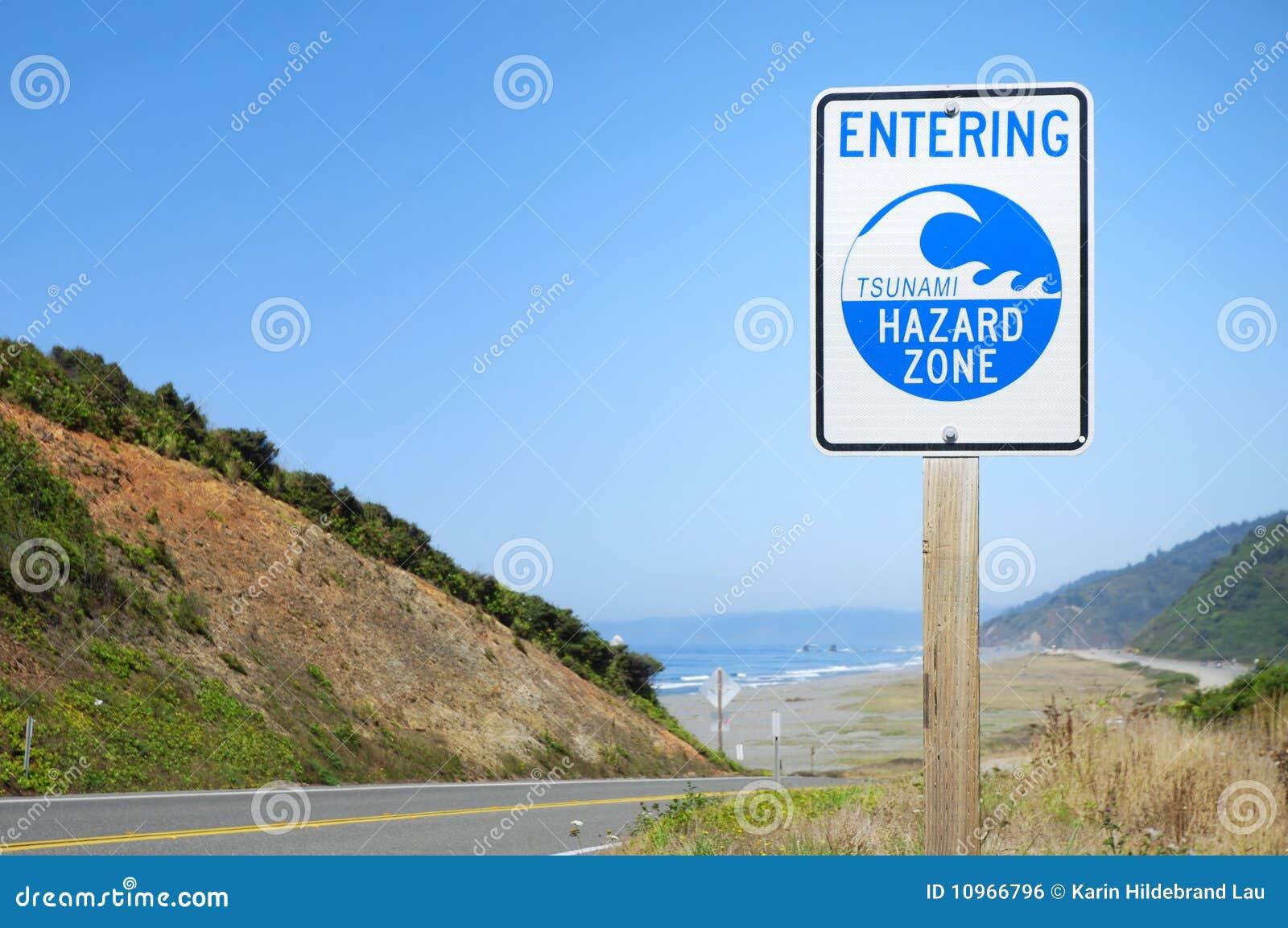 Zona do tsunami