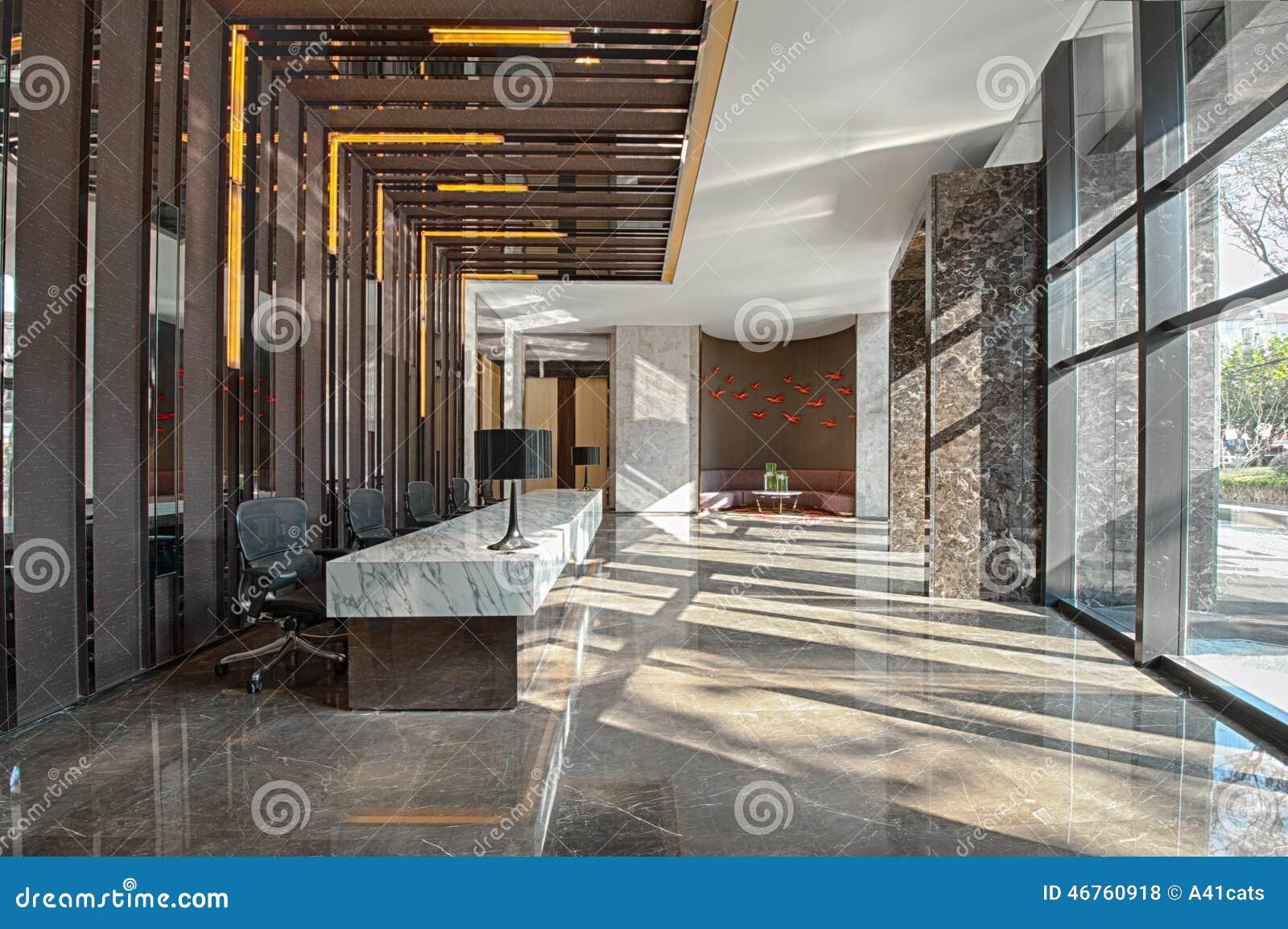 Zone d accueil d un bureau de vente photo stock image du hall