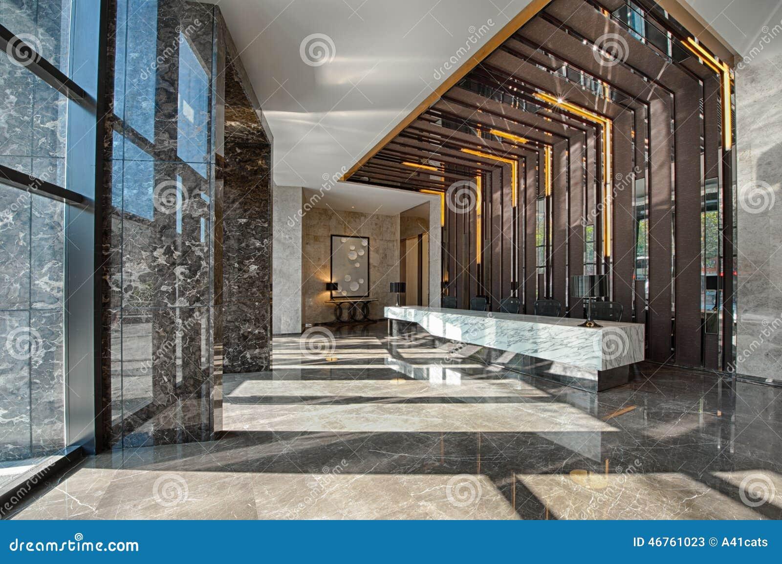 Zone daccueil dun bureau de vente image stock image du hôtel