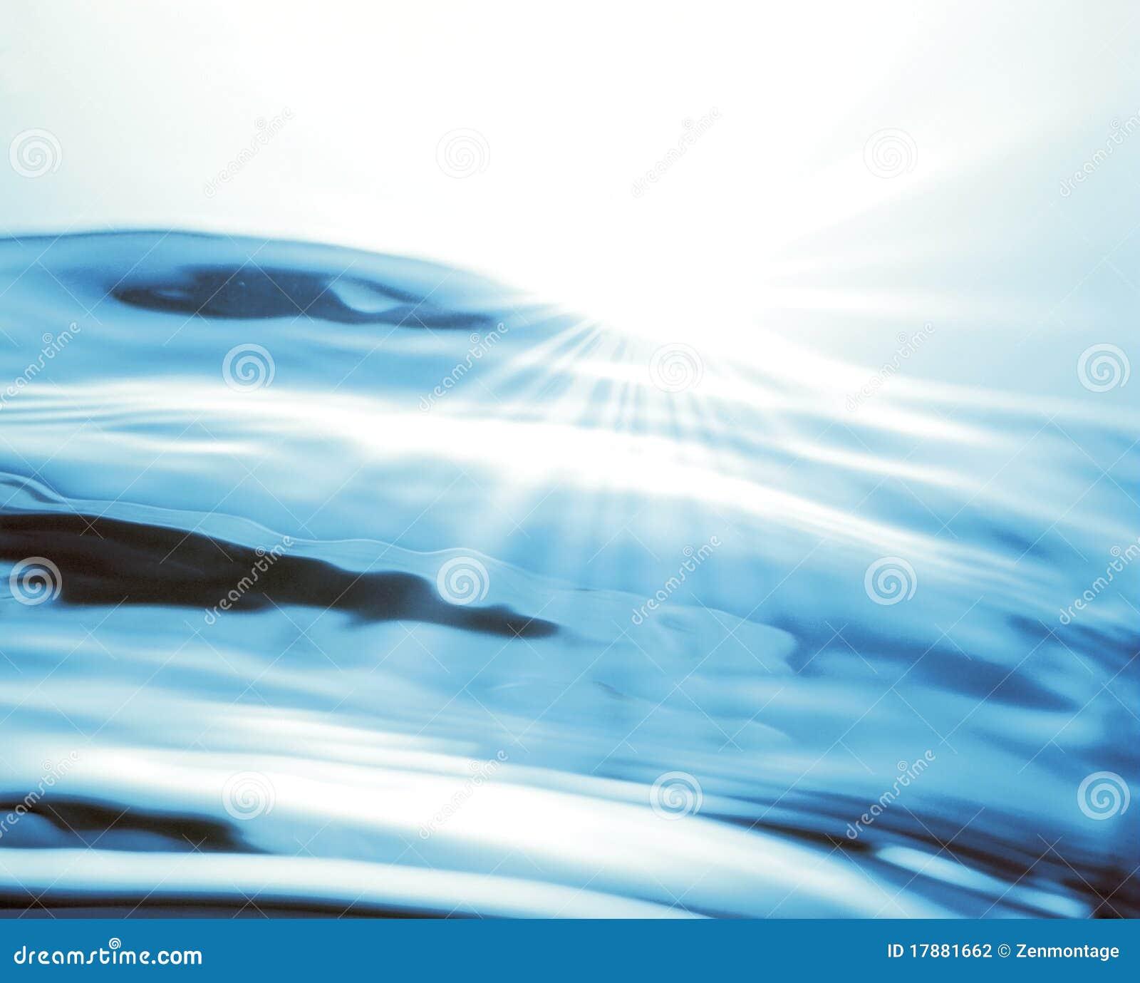 Zonlicht over Water