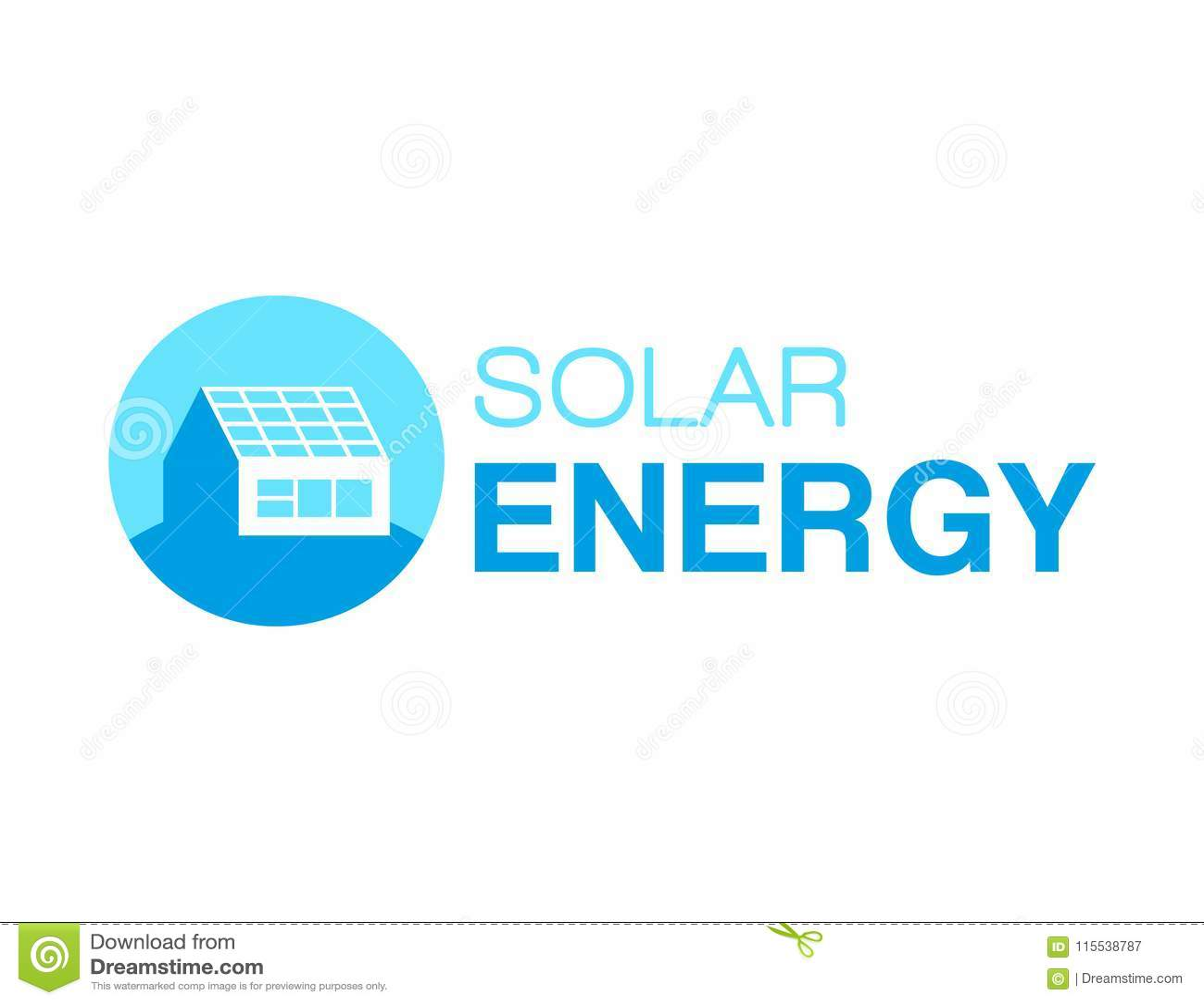 Zonne-energieembleem