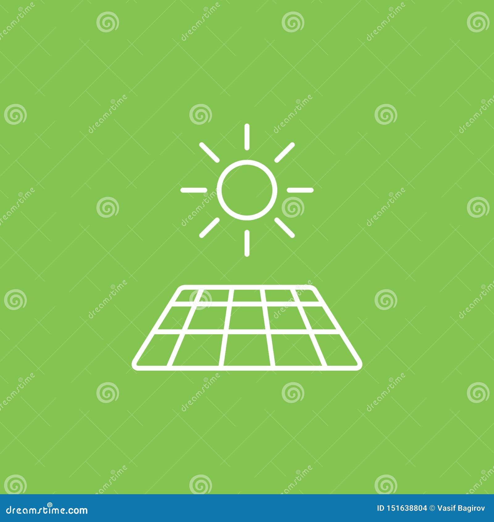 Zonne, zon, laderspictogram - Vector Eenvoudige elementenillustratie van UI-concept Zonne, zon, laderspictogram - Vector Infograp