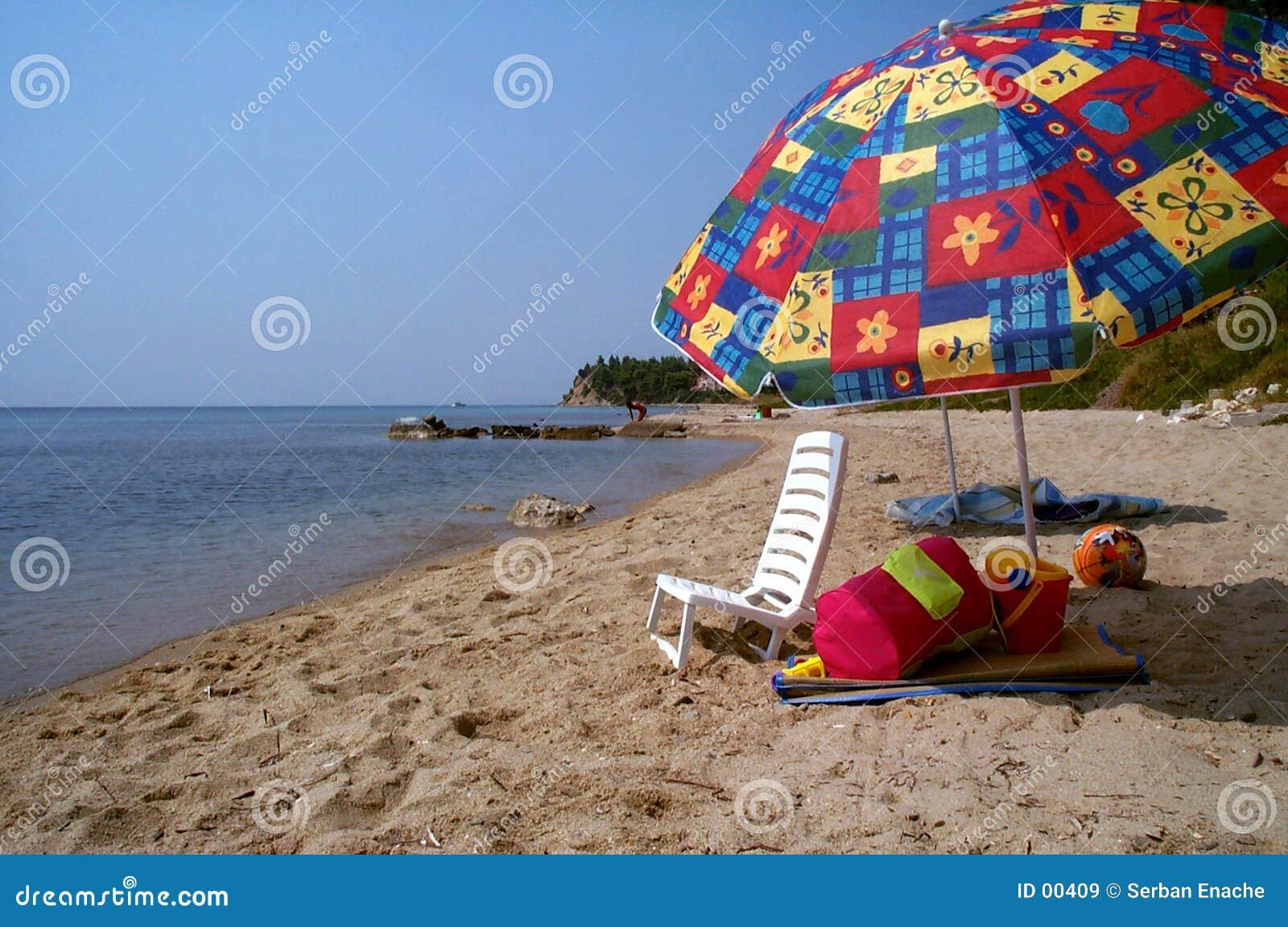 Zonnebadende stoel en de verloren zomer