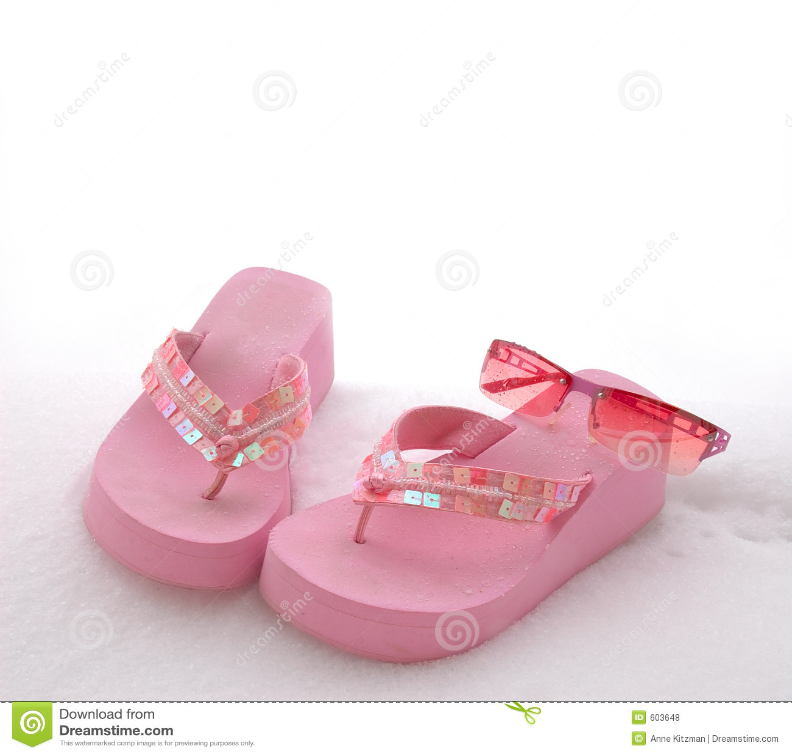 Zonnebril Sandals en Sneeuw