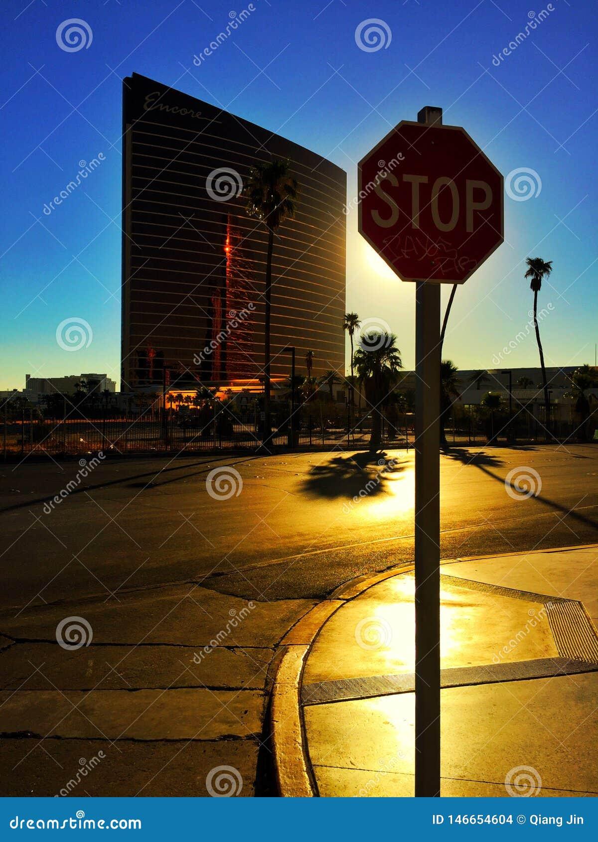 Zonneschijn in Las Vegas