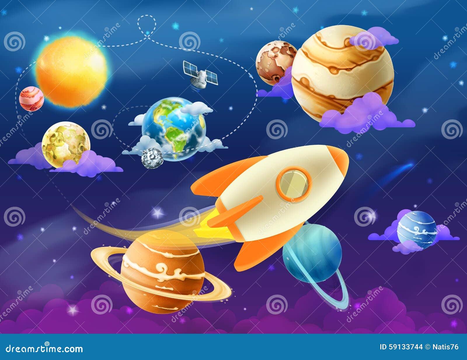 Zonnestelsel van planeten