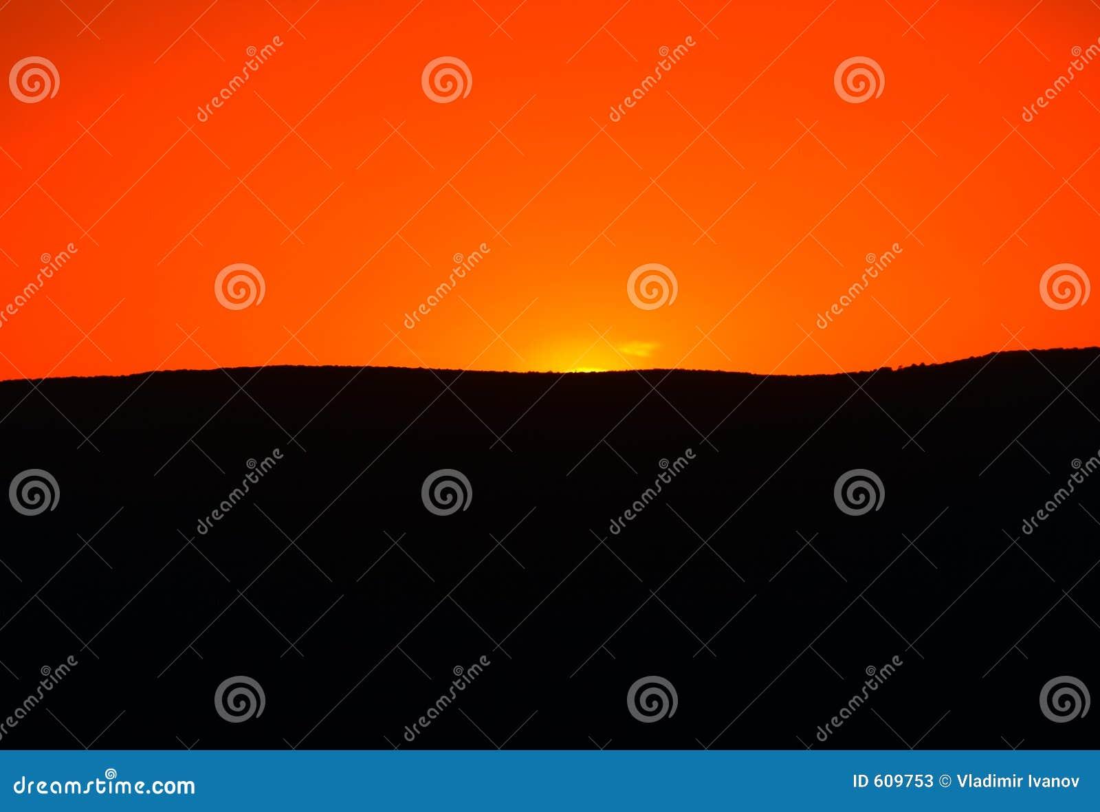 Zonsondergang