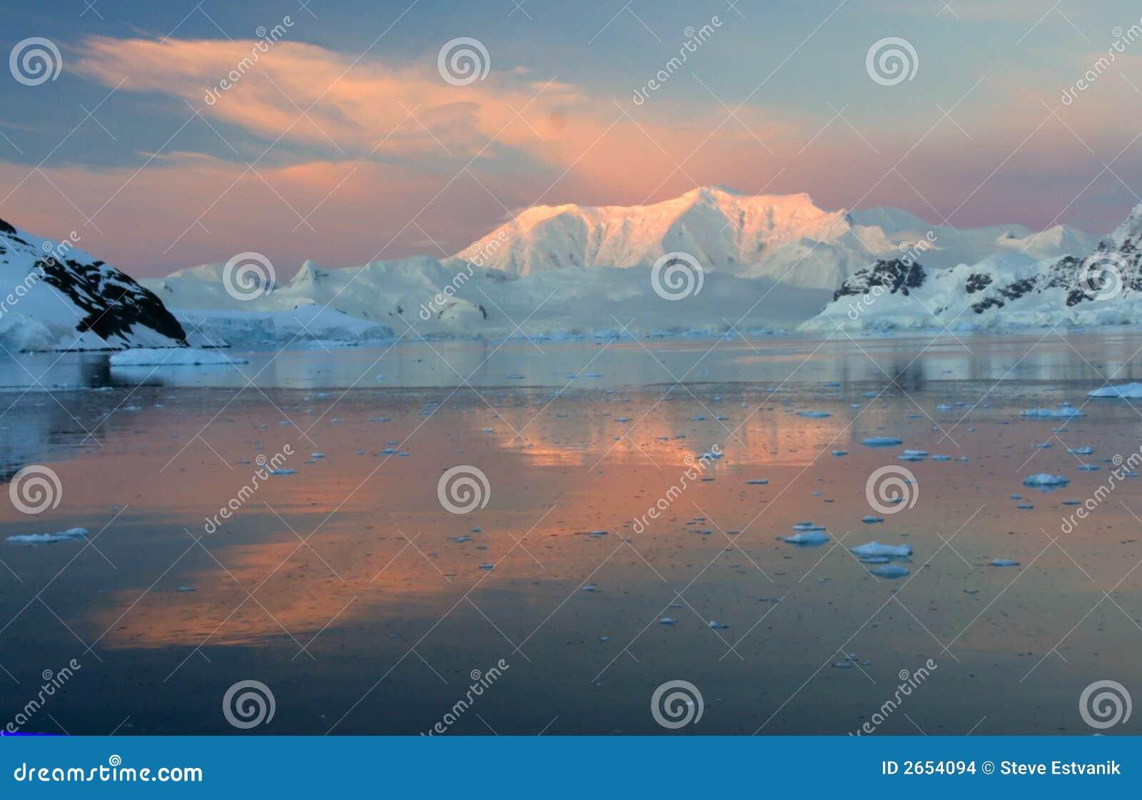 Zonsondergang & alpenglow