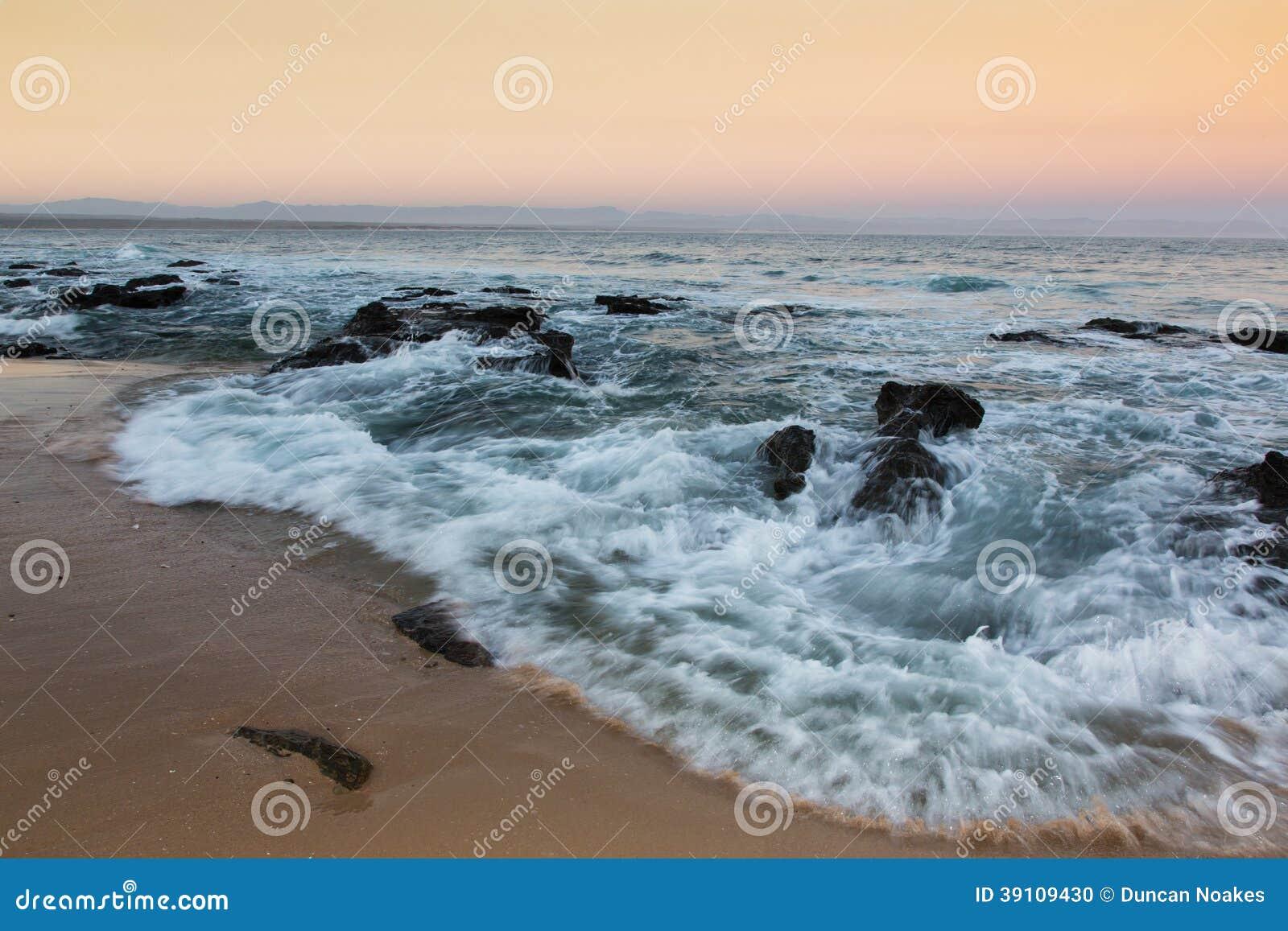 Zonsondergang bij de Baai van Jeffrey