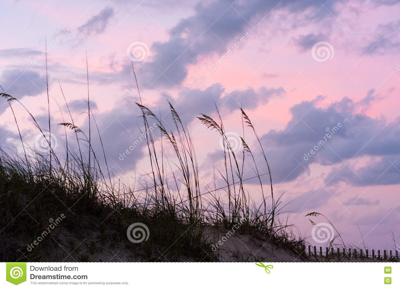Zonsondergang bij St Augustine Beach