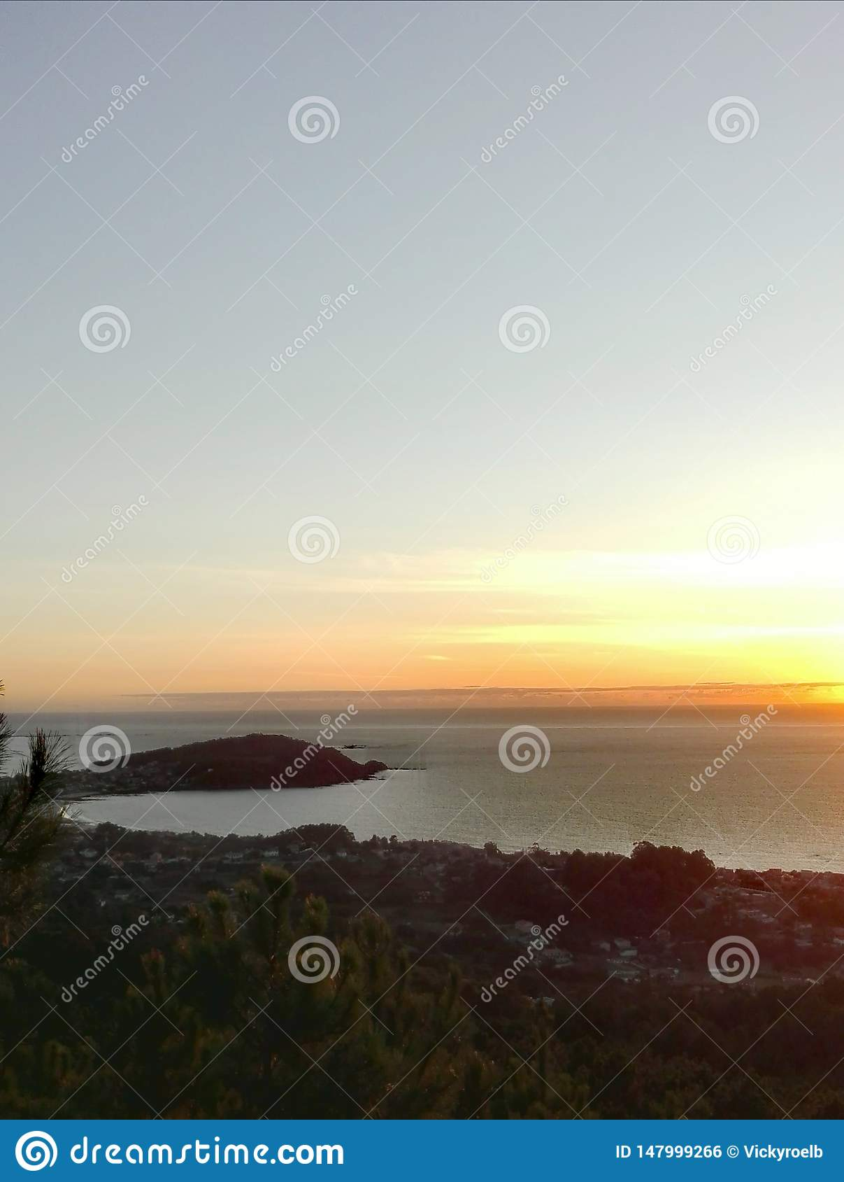 Zonsondergang in Galici?