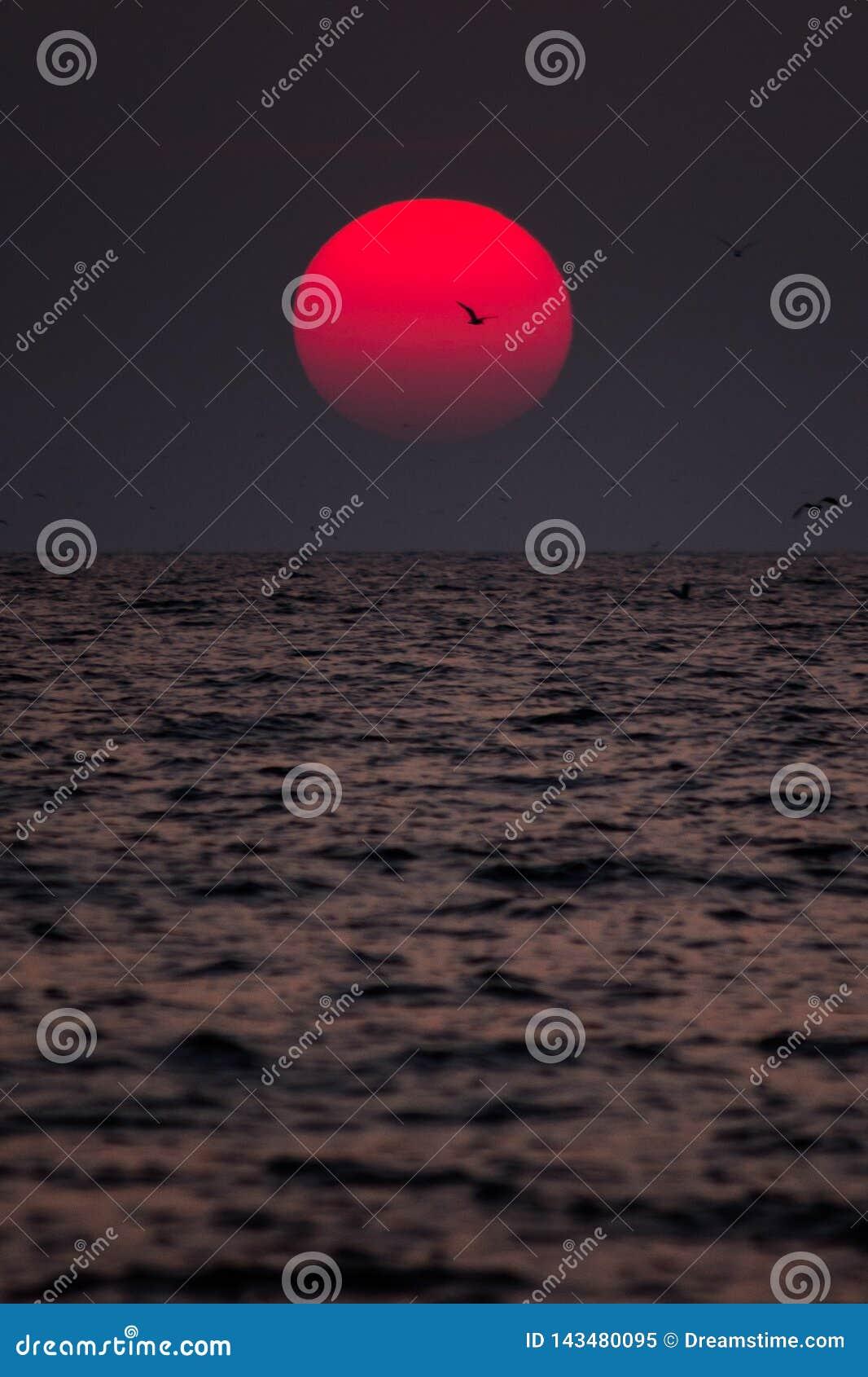 Zonsondergang in Goa