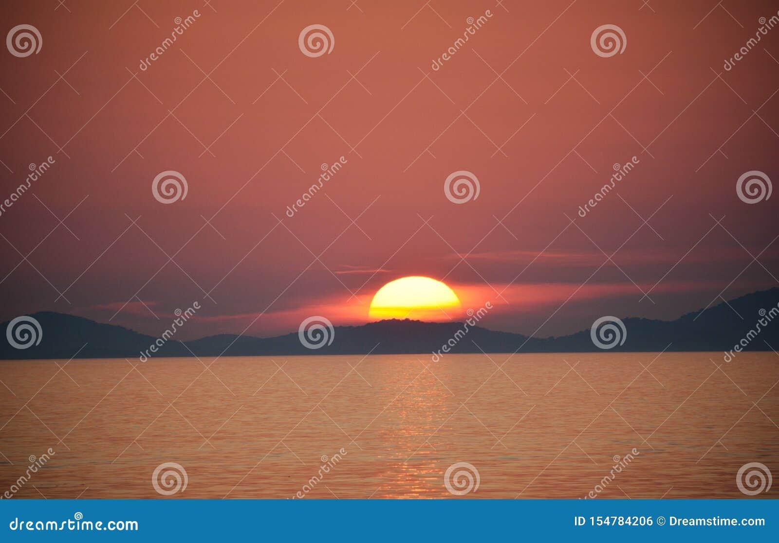 Zonsondergang in Kroati?