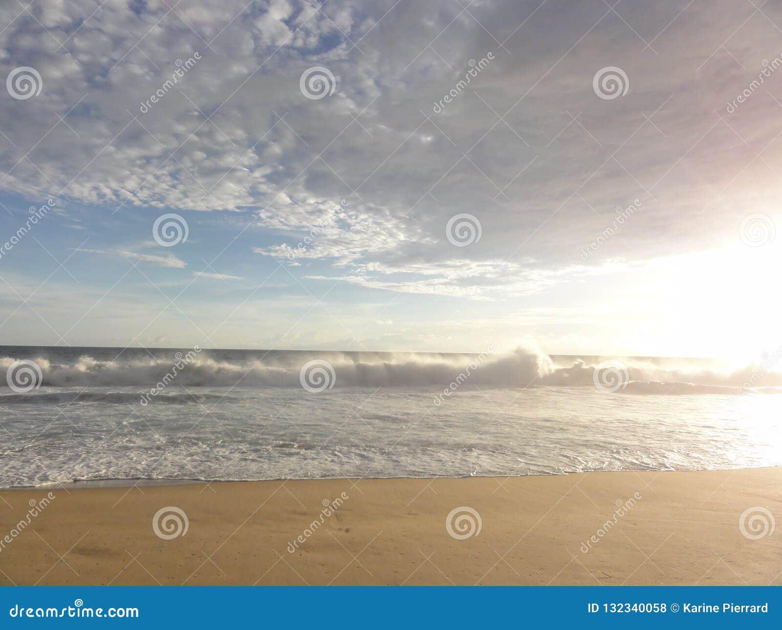 """Zonsondergang op een strand van Acapulco †""""Mexico"""