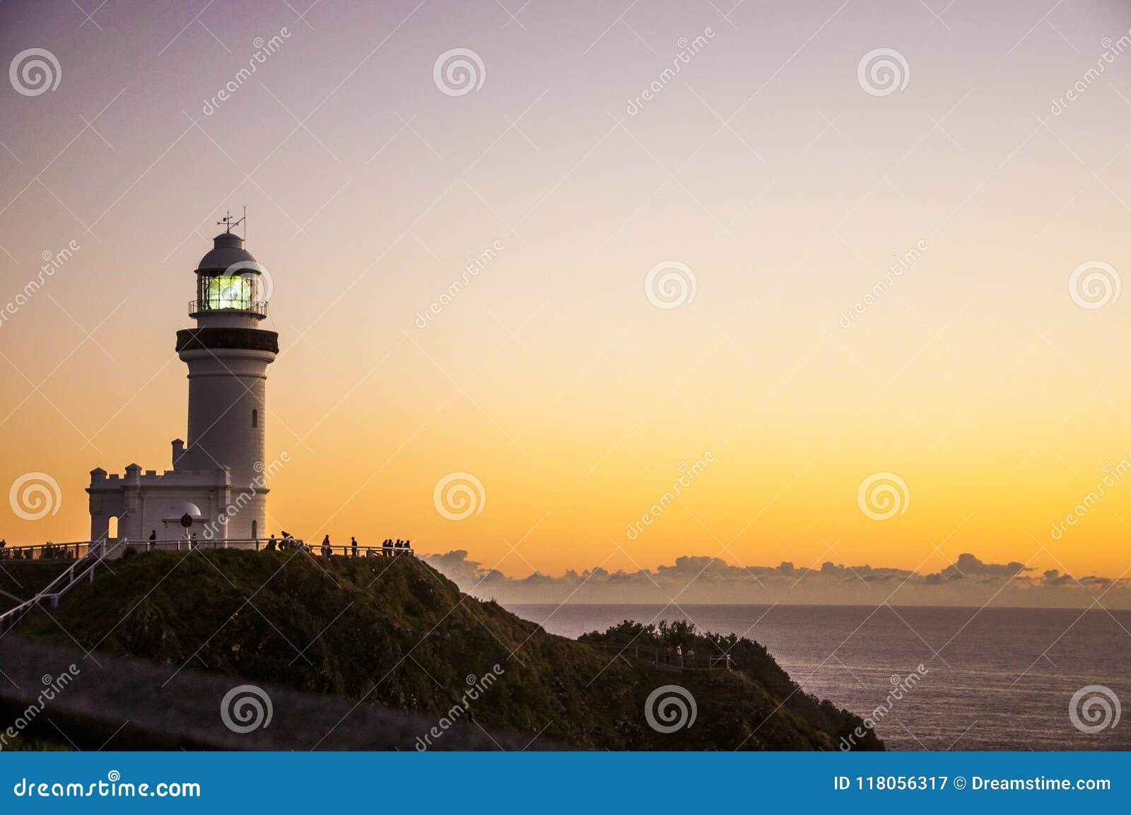 Zonsopgang in Byron Bay Lighthouse