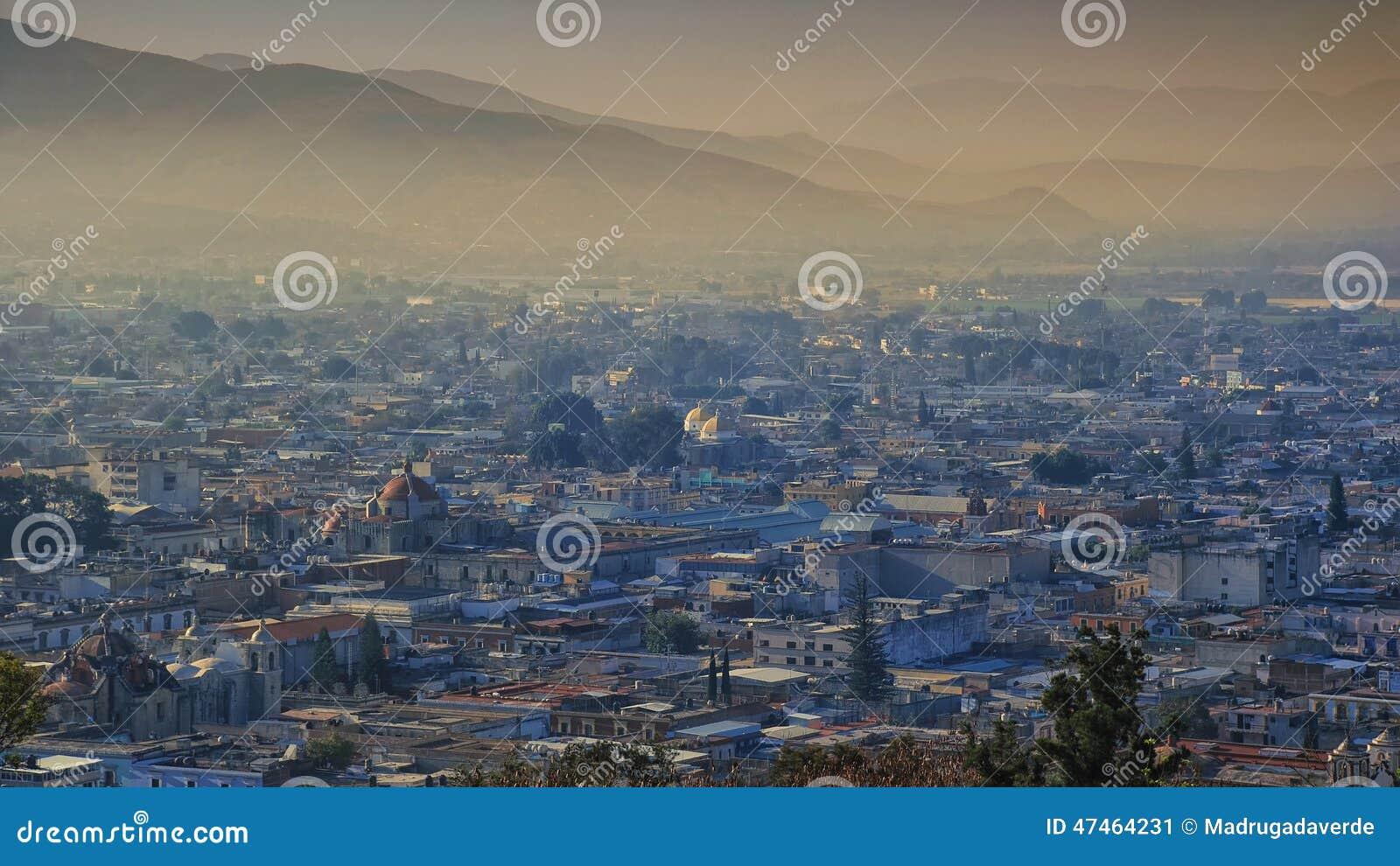 Zonsopgang in Oaxaca