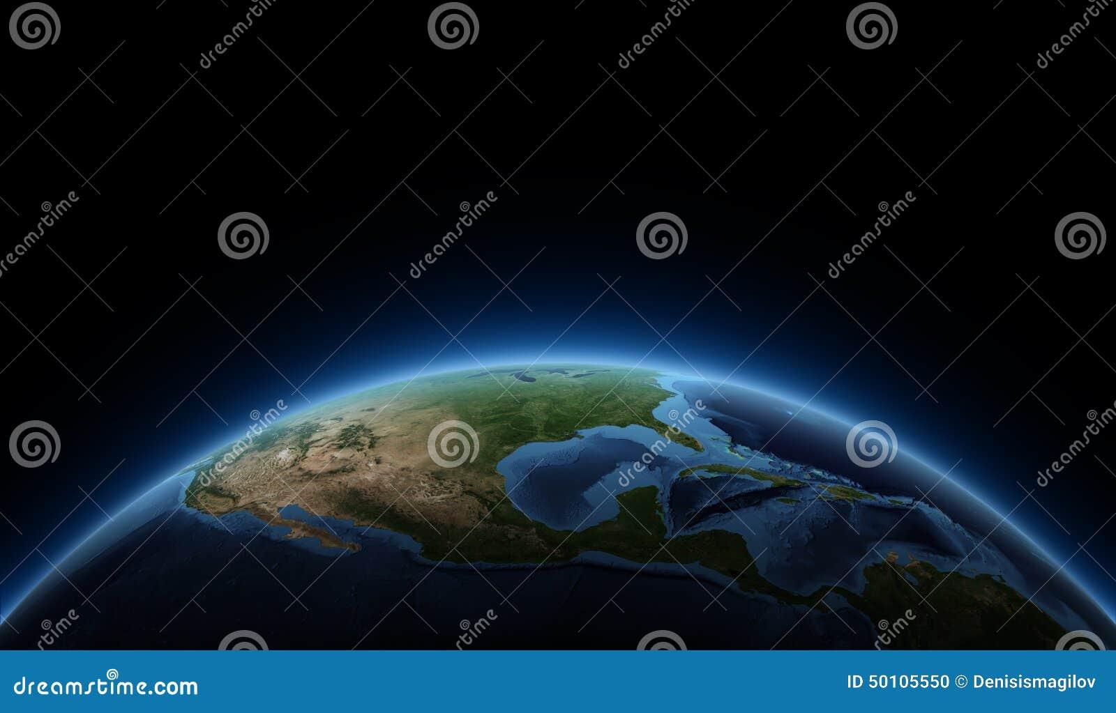 Zonsopgang op aarde