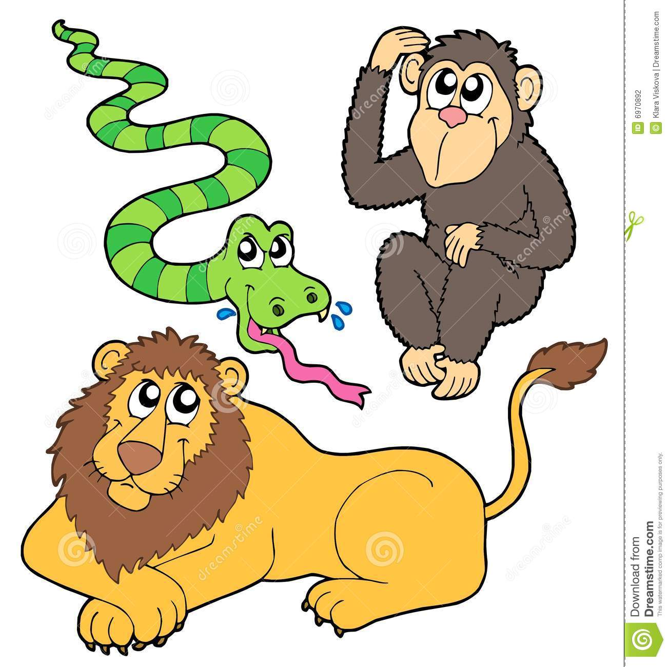 Zoo Animals Together Clipart | www.imgkid.com - The Image ...