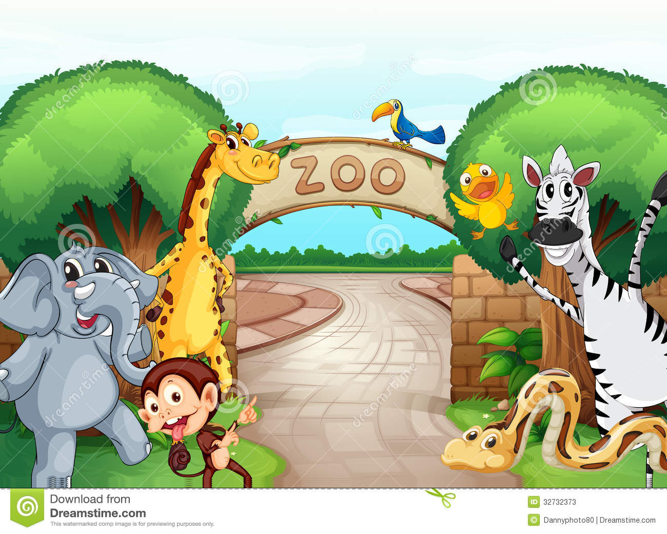 A Zoo And The Animals Stock Photos Image 32732373