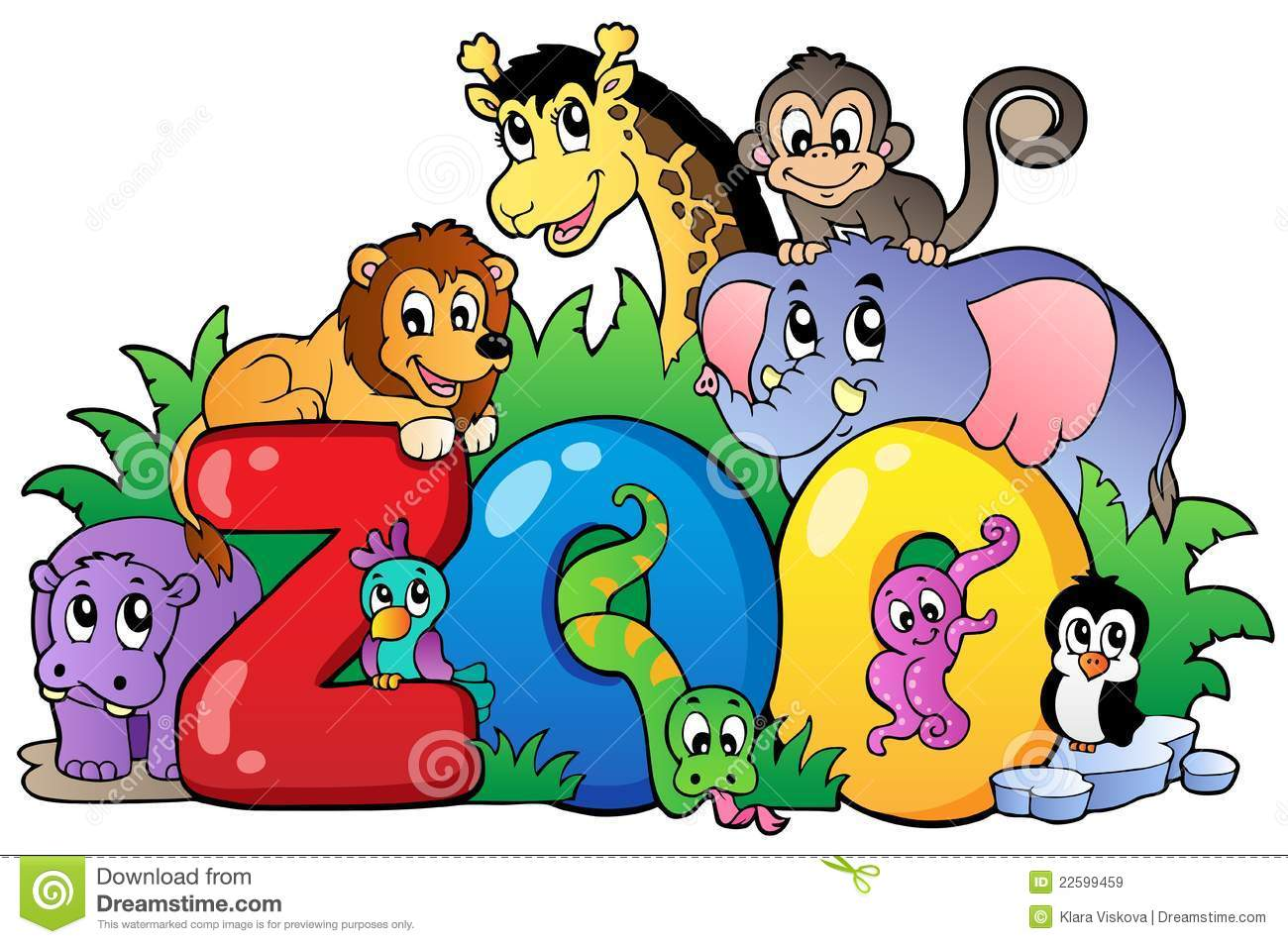 zoo sign with various animals royalty free stock images image
