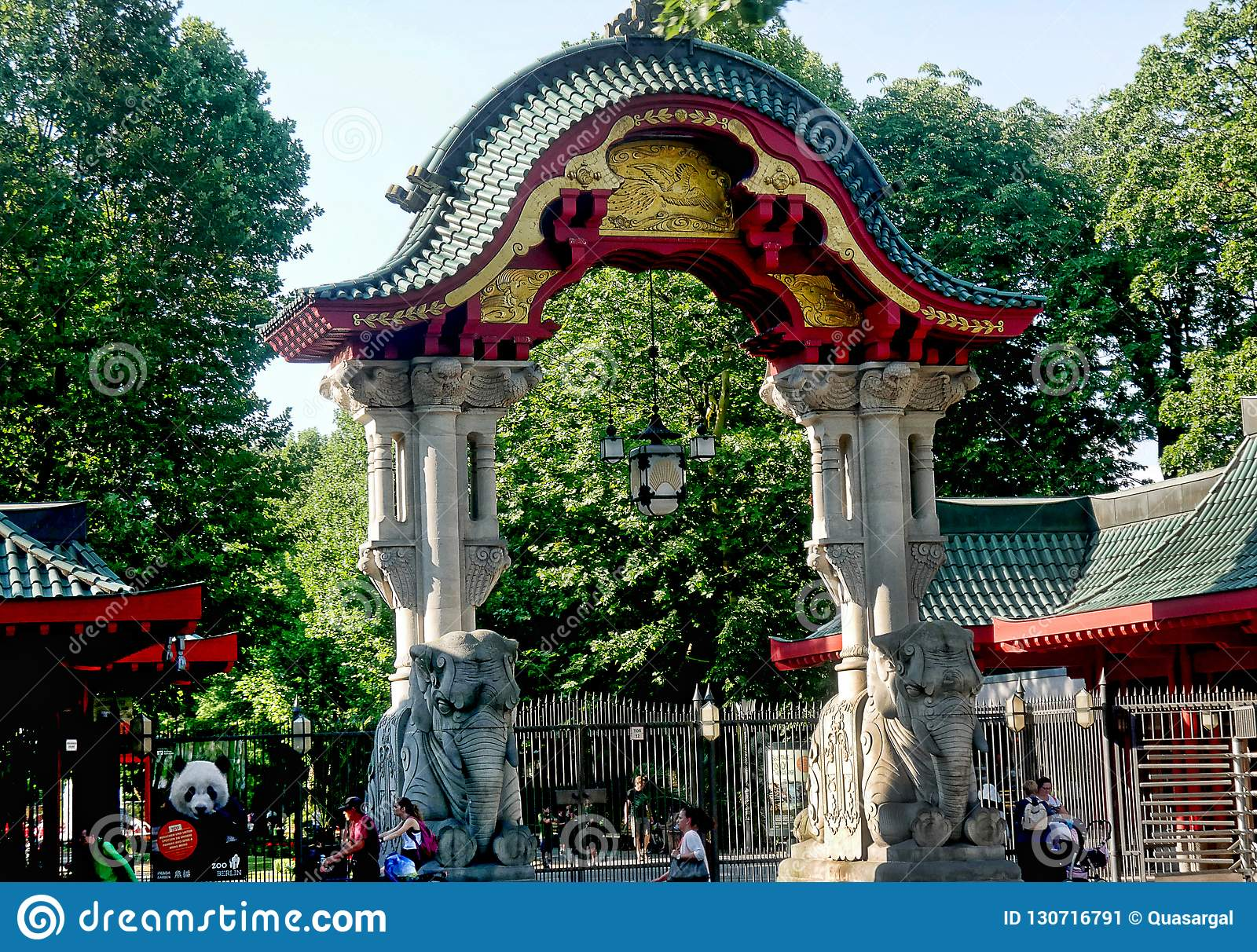 Zoological Gardens In Berlin Germany And Aquarium The Berlin Zoo Is