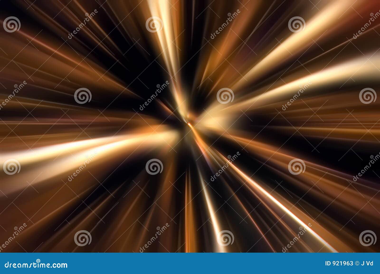Zoom di movimento di colore