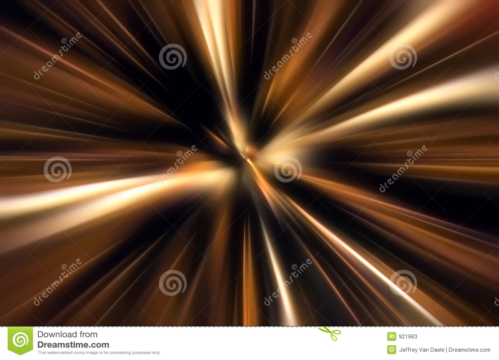 Zoom do movimento da cor
