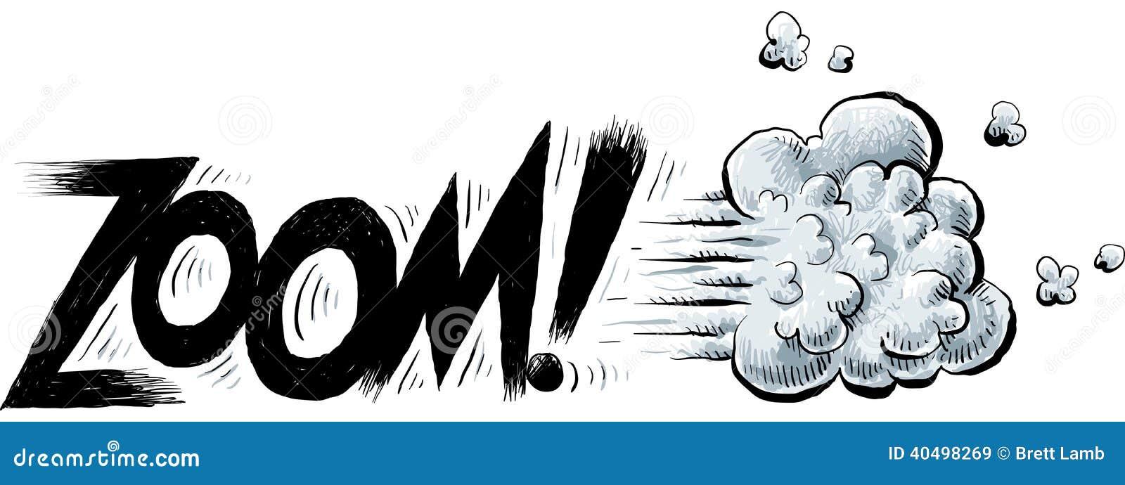 ZOOM Text stock vector. Illustration of cartoon