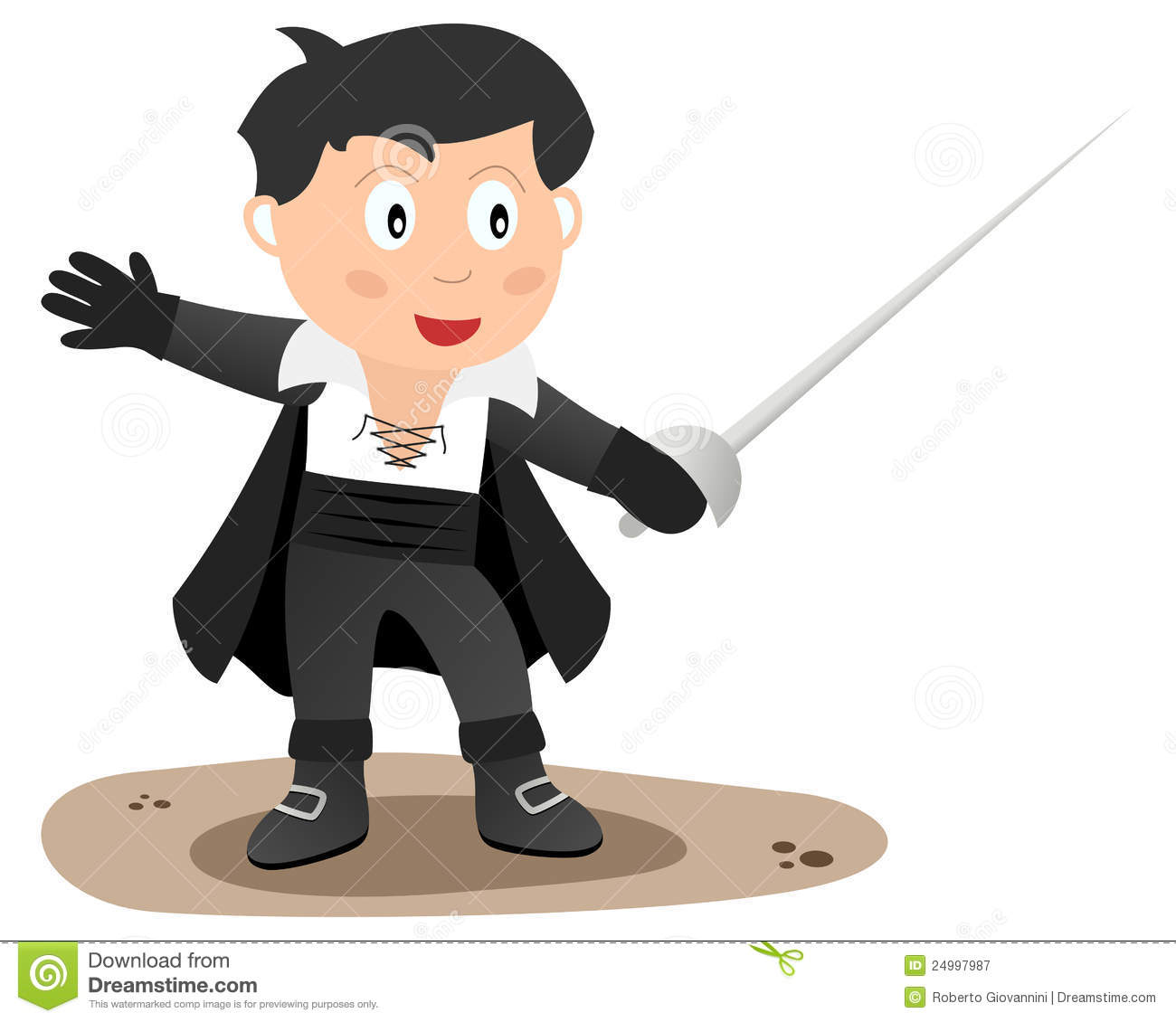 Zorro Royalty Free Stock Photography - Image: 24997987