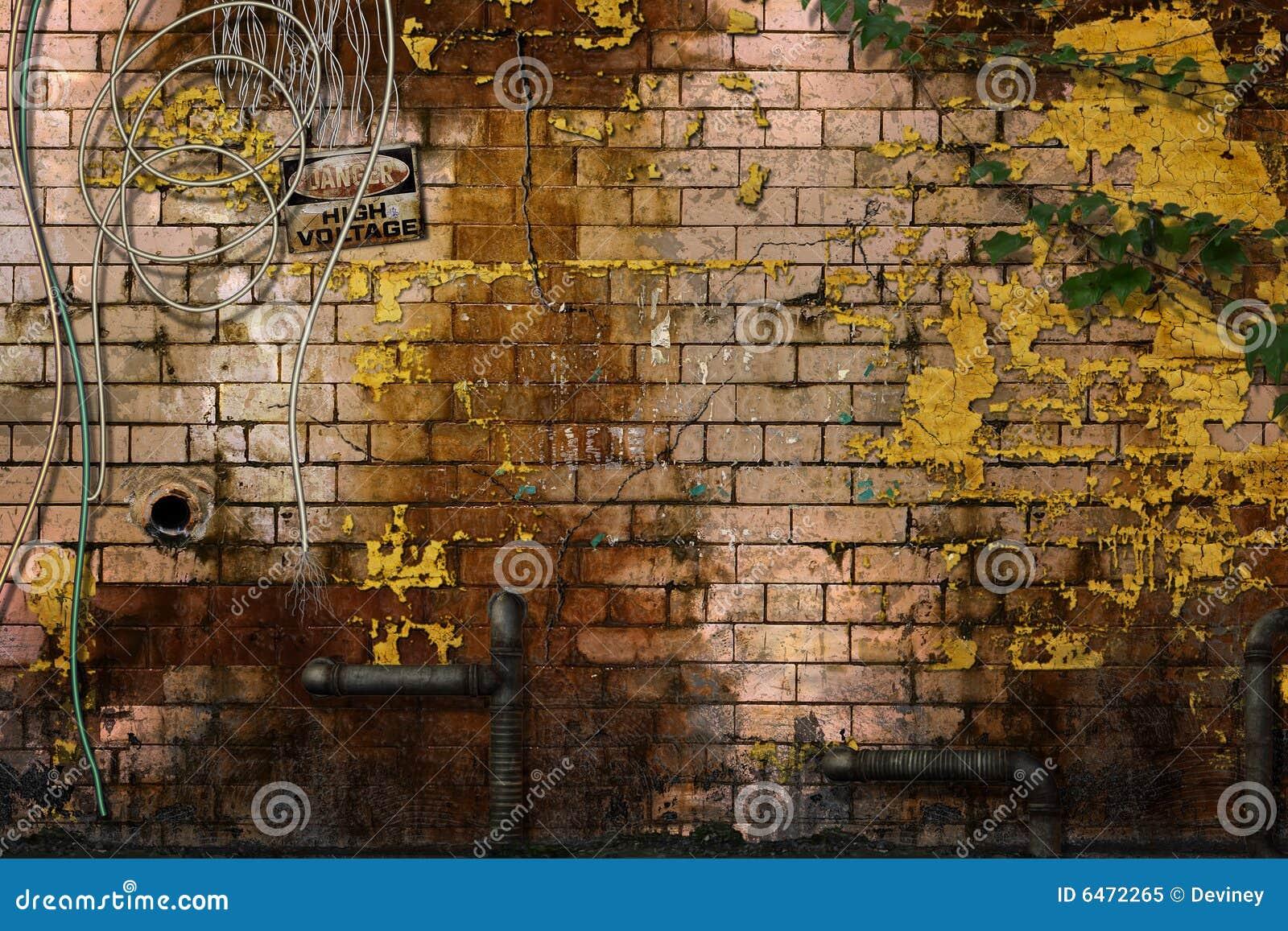 Zostać zniszczone ściany