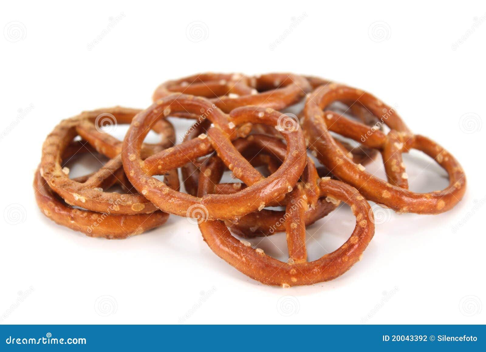 Zoute pretzels