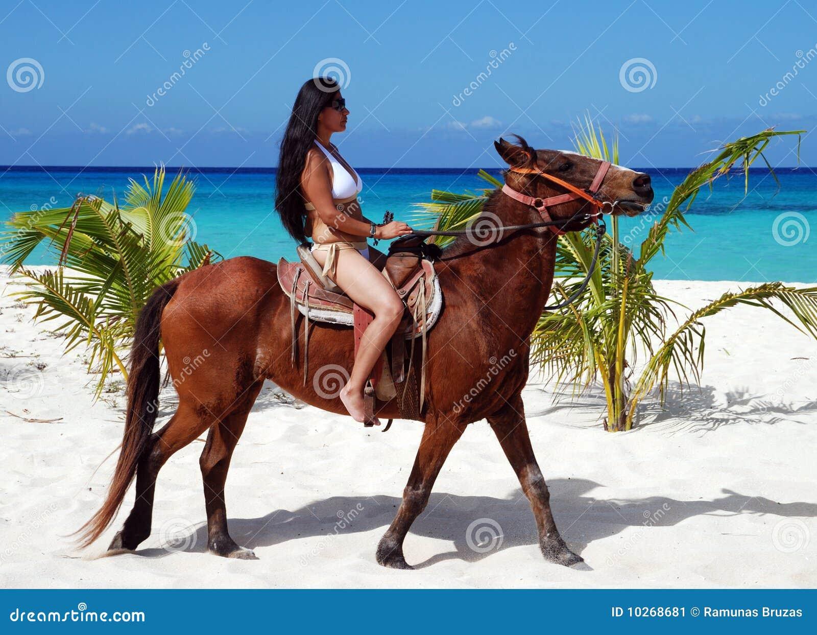 Zu Pferde in Cozumel