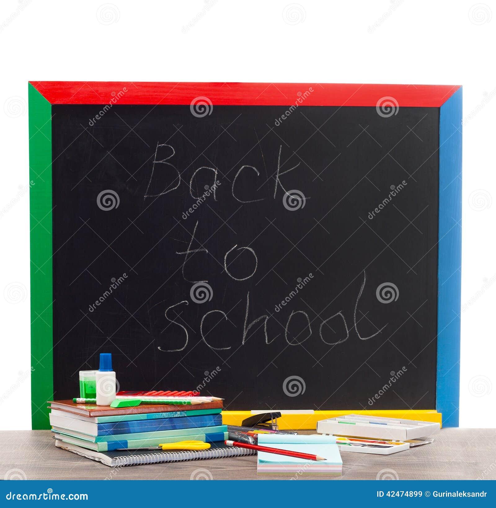 Zubehör von der Schule