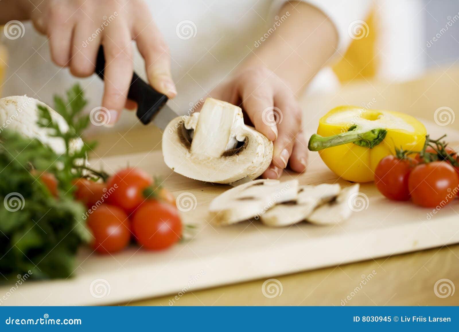 Zubereitung der Nahrung