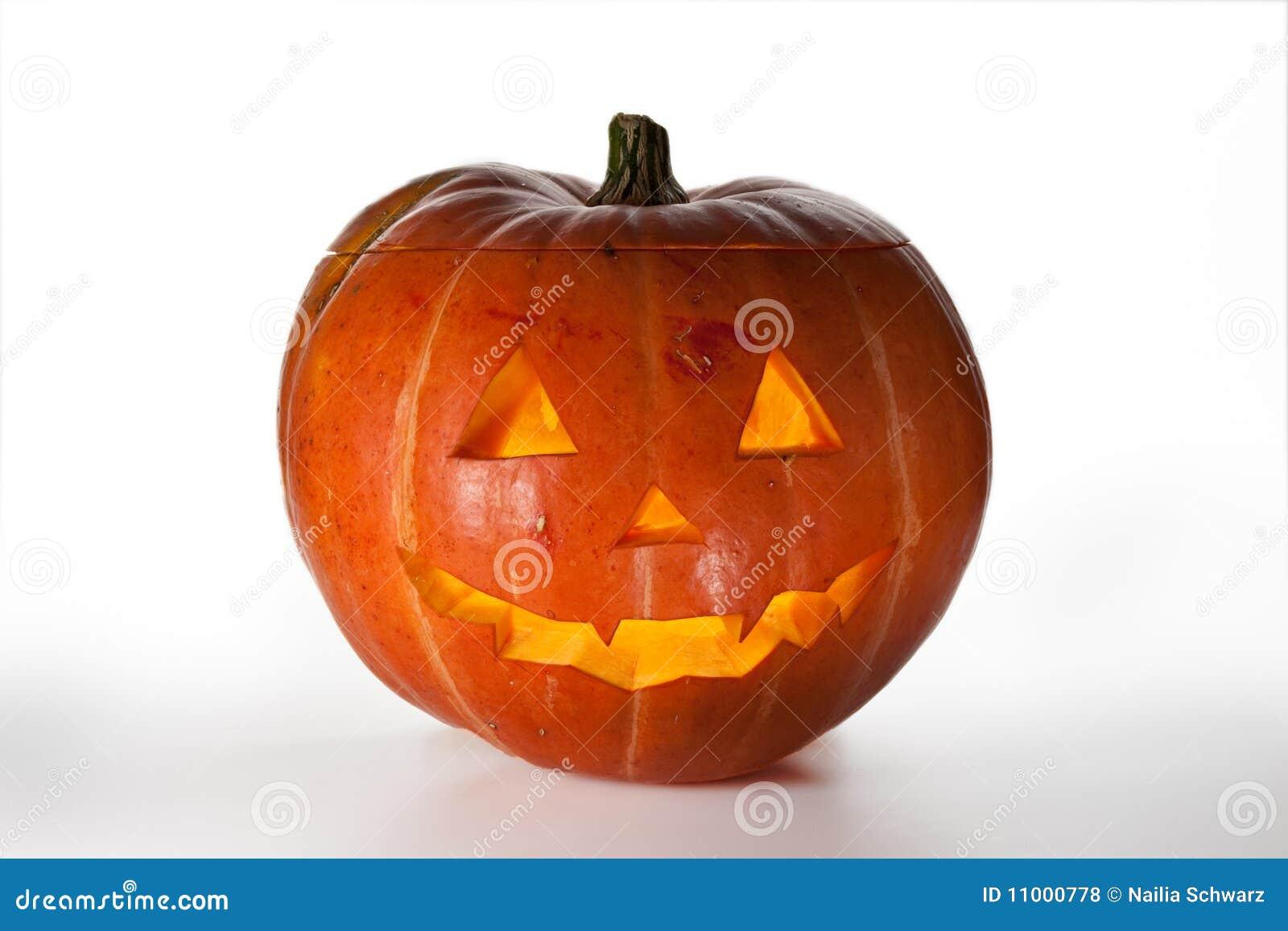 Zucche Di Halloween Terrificanti.Zucca Di Halloween All Interno Dell Illuminato Di Da Indicatore